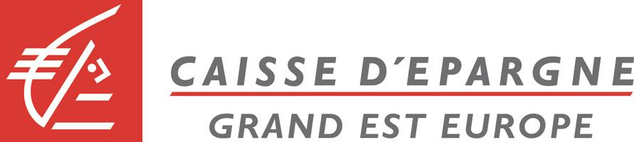 Logo de la Caisse d'Epargne, partenaire de Metz Mécènes Solidaires