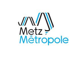 Logo de Metz Métropôle, partenaire de Metz Mécènes Solidaires