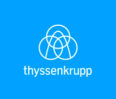 Logo Thyssenkrupp, partenaire de Metz Mécènes Solidaires