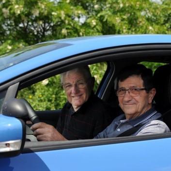 Transport de retraités en précarité, un projet soutenu par Metz Mécènes Solidaires